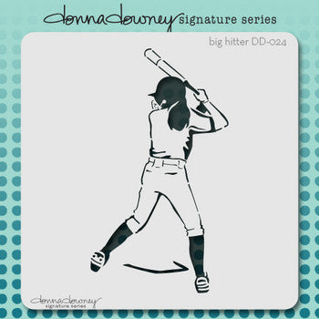 Big Hitter Stencil - Donna Downey - Artified Shop  [product_venor]