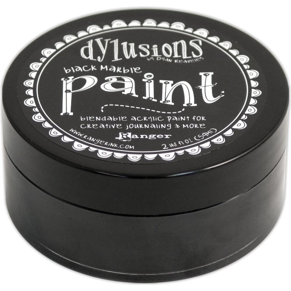 Black Marble Dyan Reaveley's Dylusions Paint 2oz - Artified Shop
