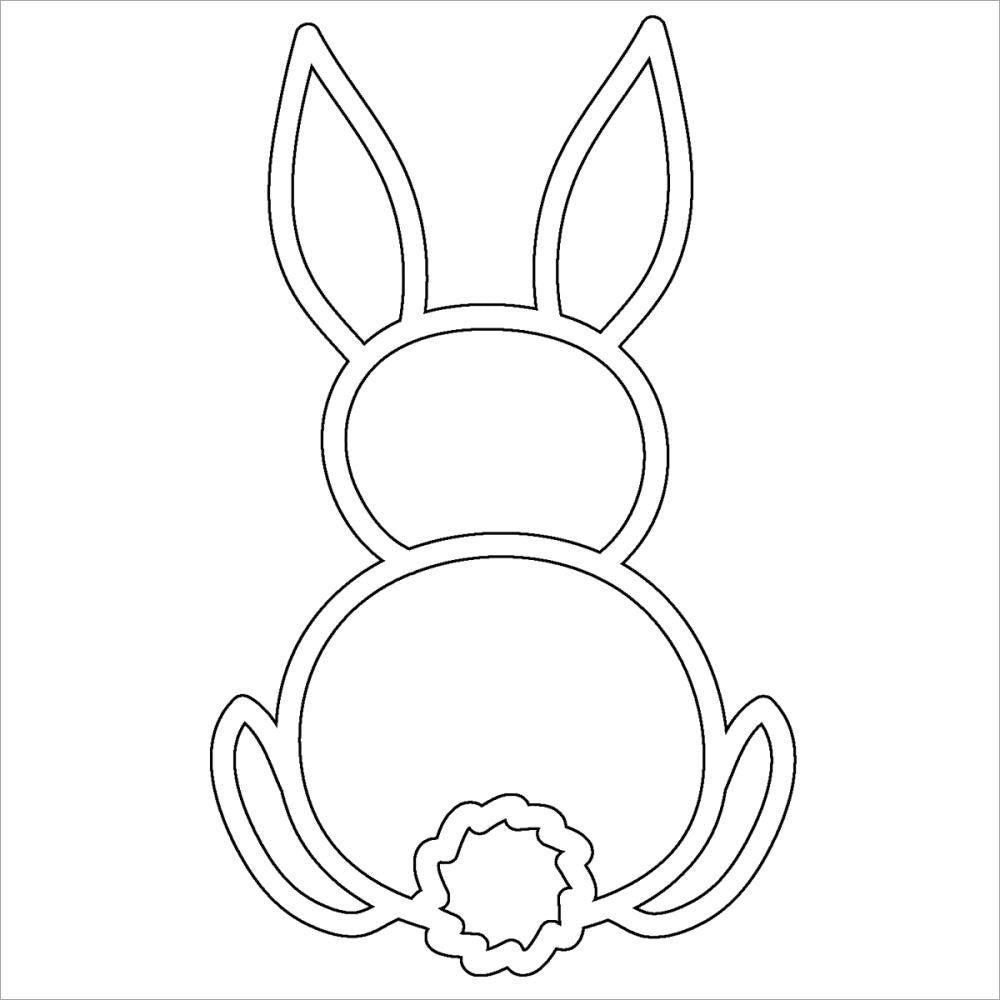 "Bunny Crafter's Workshop Fragments Templates 4""X4"" - Artified Shop"