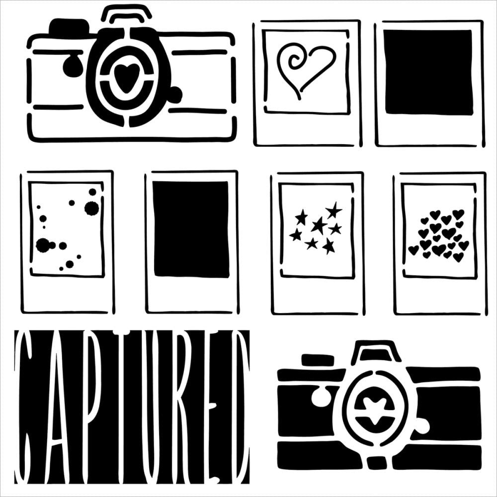 Captured - 12x12 Template - Artified Shop