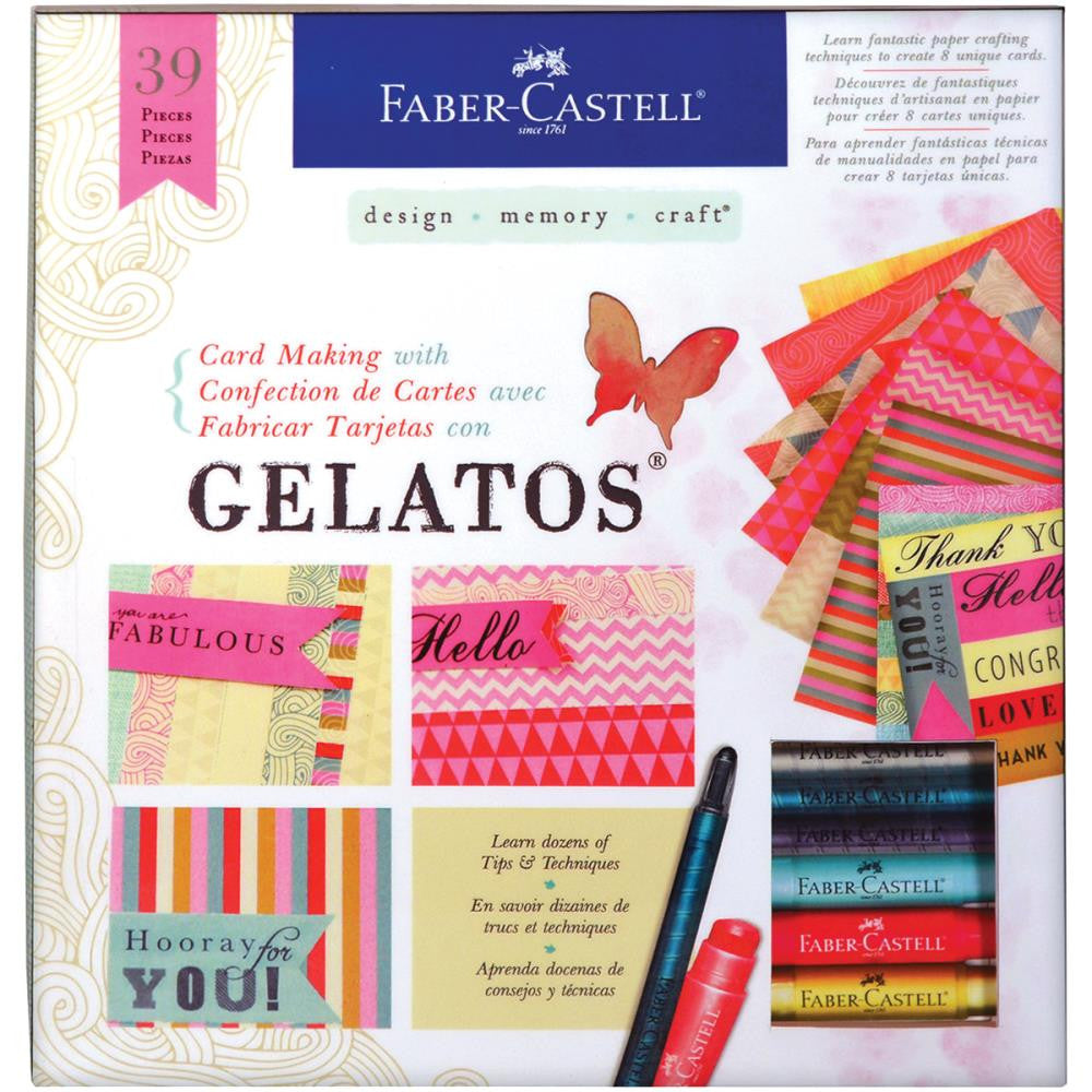 Card Making Kit With Gelatos - Artified Shop