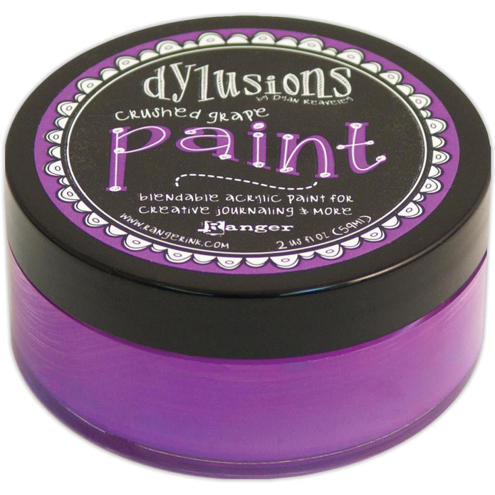 Crushed Grape Dyan Reaveley's Dylusions Paint 2oz
