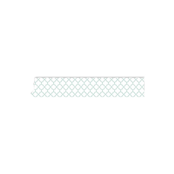 "Mint Chain - Carpe Diem Washi Tape .5""X32 Feet"