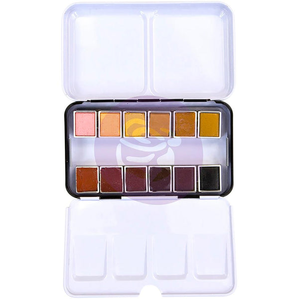 Complextion Prima Watercolor Confections Watercolor Pans 12/Pkg - Artified Shop