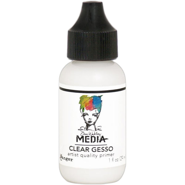 Dina Wakley Media Gesso 1oz Tube - Clear