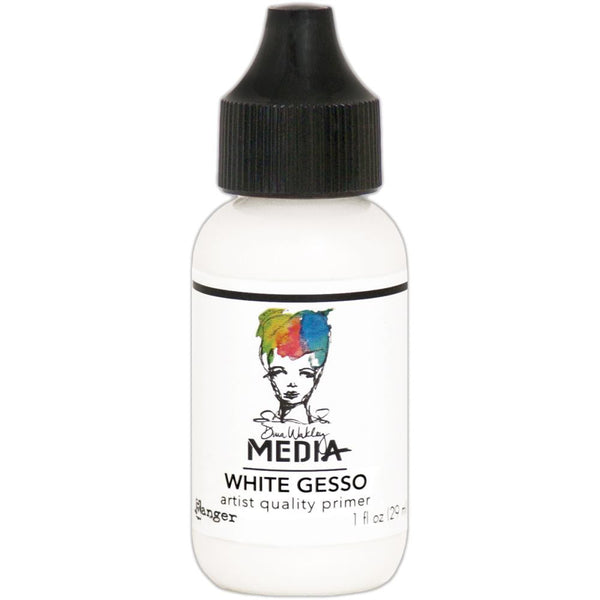 Dina Wakley Media Gesso 1oz Tube - White - Artified Shop