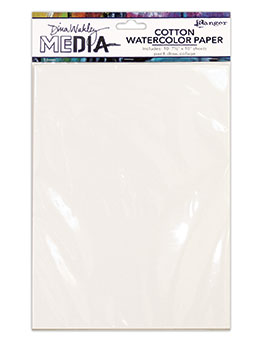 Dina Wakley Media Cotton Watercolor Paper Pack - Artified Shop