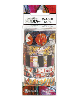Dina Wakley Media Washi Tape #2-6Rolls - Artified Shop