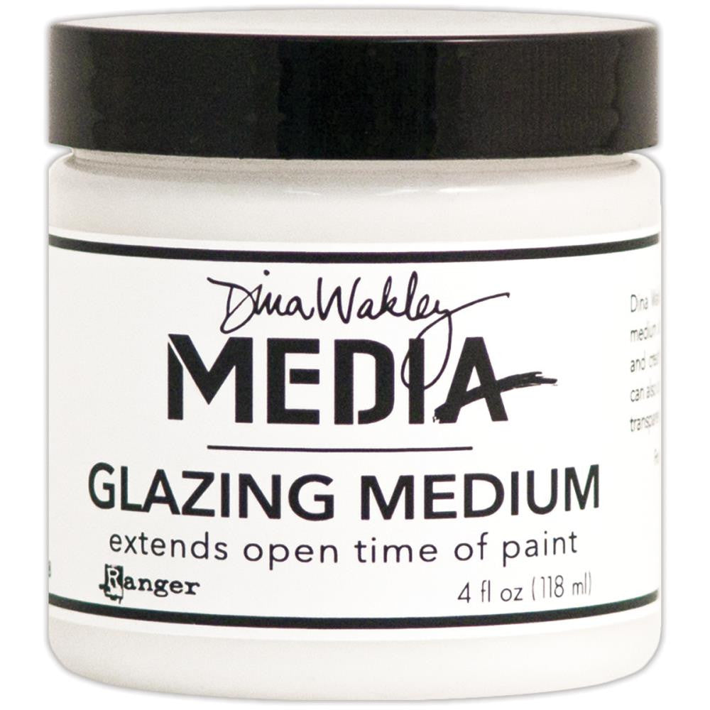 Dina Wakley Media Glazing Medium 4oz Jar - Artified Shop