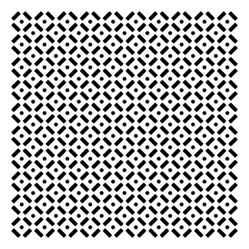 Dots and Dashes - 12x12 Template