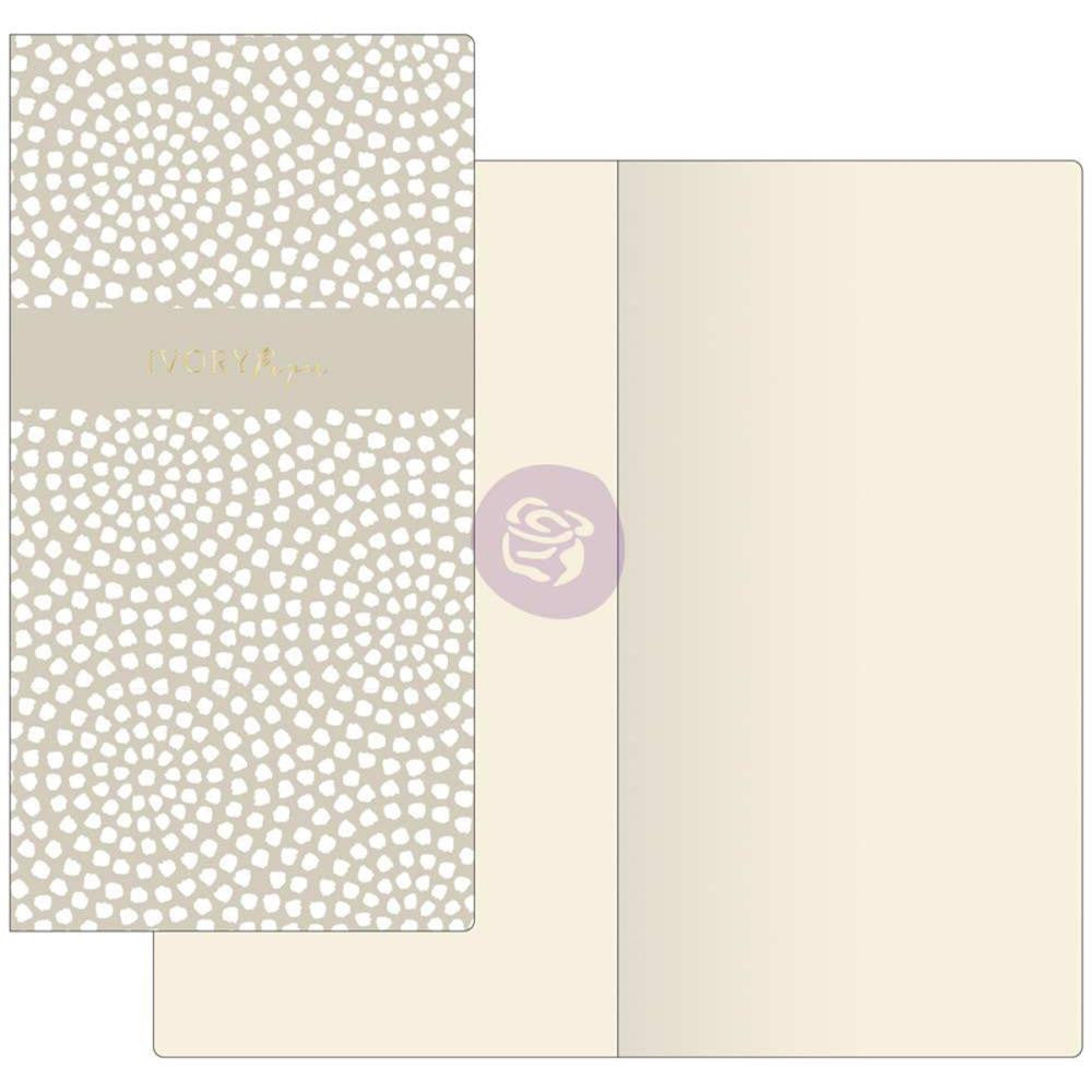 Dotted Circles with Ivory Paper Prima Traveler's Journal Notebook Refill 32 Sheets - Artified Shop
