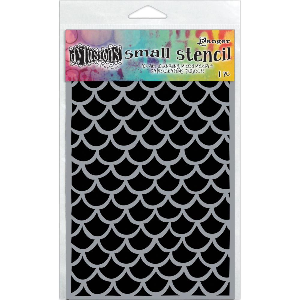 "Fishtails Dyan Reaveley's Dylusions Stencils 5""X8"" - Artified Shop"