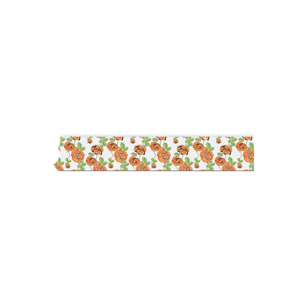 "Floral - 77 Washi Tape .5""X32 Feet"