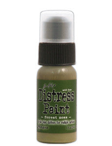 Forest Moss Distress Paint - Artified Shop