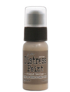 Frayed Burlap Distress Paint - Artified Shop