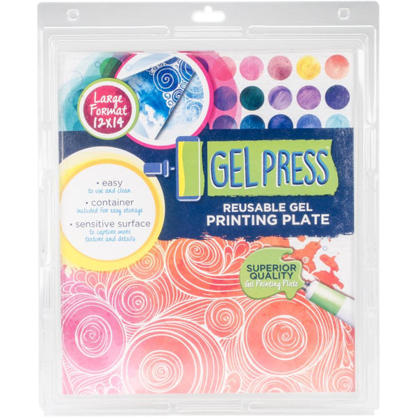 "Gel Press Gel Plate 12""X14"" - Artified Shop"