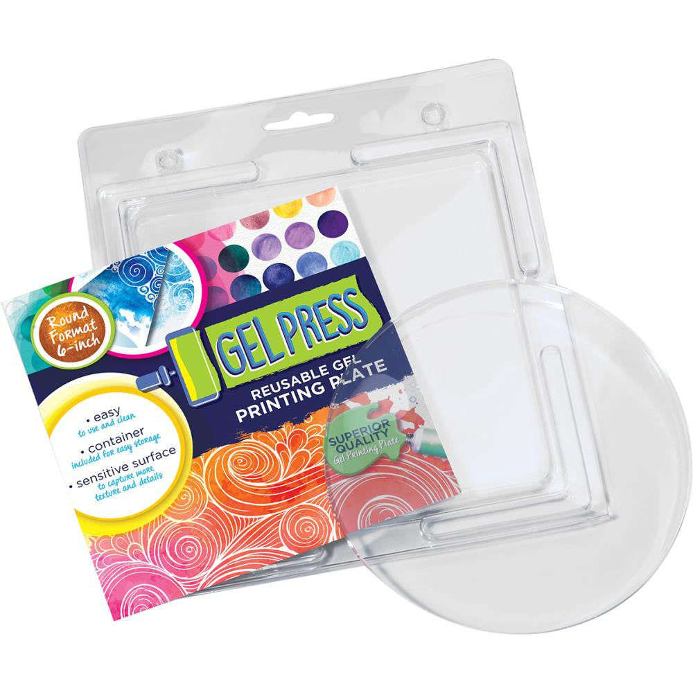 "Gel Press Gel Circle 6"" - Artified Shop"