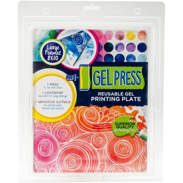 "PolyGel Gel Plate 8""x10"" - Artified Shop"