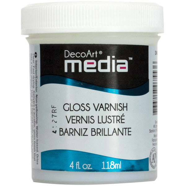 Media Gloss Varnish 4oz - Artified Shop
