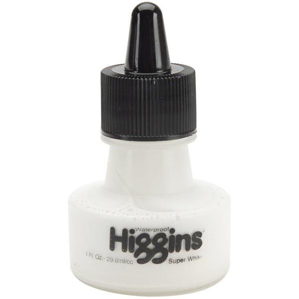 Higgins Superwhite Ink 1 Ounce - Artified Shop