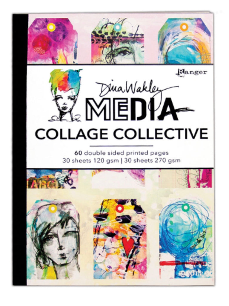 PRE ORDER Dina Wakley Media Mixed Media Collage Collective