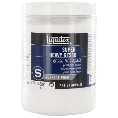 Liquitex Super Heavy Gesso 946ml - Artified Shop