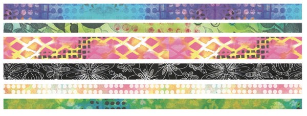 Dyan Reaveley's Dylusions Washi Tape Set - Set #3 - 7 Rolls - Artified Shop