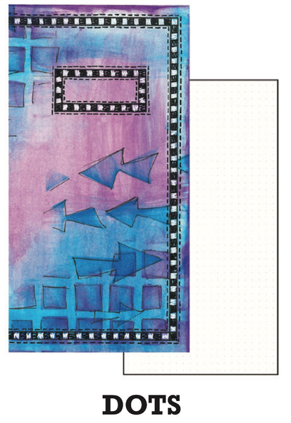 Dyan Reaveley's Dylusions Dyalog Insert Book Dots - Artified Shop