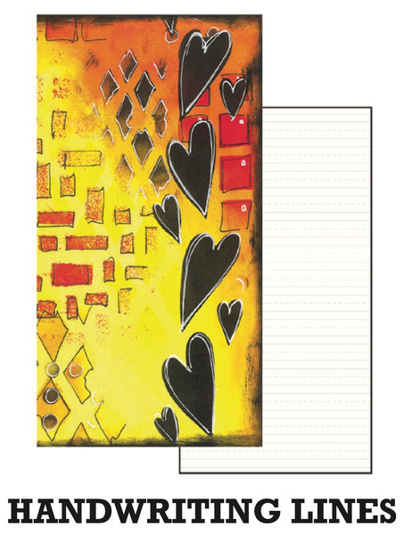 Dyan Reaveley's Dylusions Dyalog Insert Book Handwriting Lines - Artified Shop