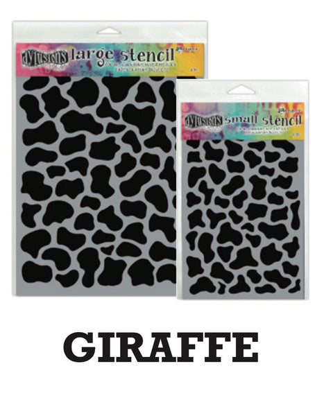 "Dyan Reaveley's Dylusions Stencils 5""X8"" - Giraffe - Artified Shop"