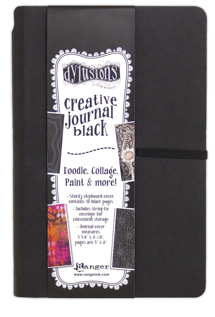 Dyan Reaveley's Dylusions Black Journal - Small