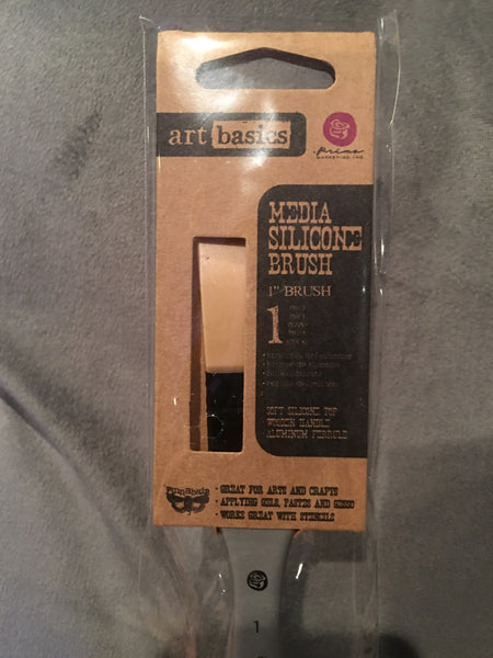 Finnabair Art Basics Mixed Media Silicone Brush 1""