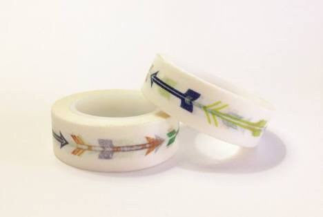 "Arrows Washi Tape .5""X32 Feet - Artified Shop"