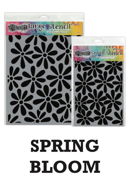 "Dyan Reaveley's Dylusions Stencils 5""X8"" - Spring Bloom - Artified Shop"