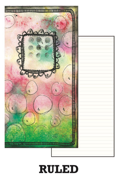Dyan Reaveley's Dylusions Dyalog Insert Book Ruled - Artified Shop