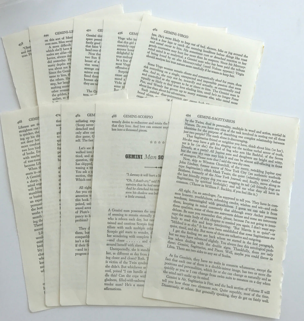 Book Paper Pack - 10 Sheets