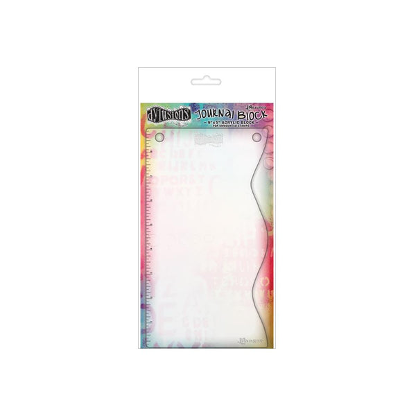 "Dyan Reaveley's Dylusions Journaling Block 4.35""X12"" - Artified Shop"