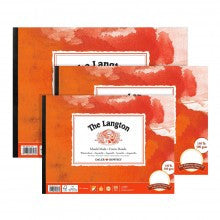 LANGTON WATERCOLOUR PAPER - 9x12 PAD HOT PRESS - Artified Shop
