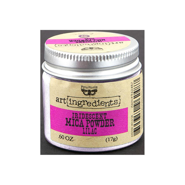Finnabair Art Ingredients Mica Powder .6oz - Lilac Opal Magic