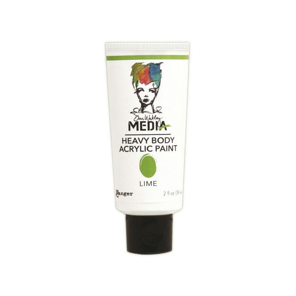 Dina Wakley Media Heavy Body 2oz Acrylic Paints - Lime - Artified Shop