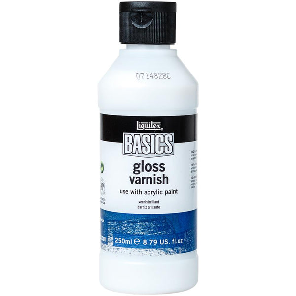 Liquitex BASICS Gloss Varnish 250ml - Artified Shop