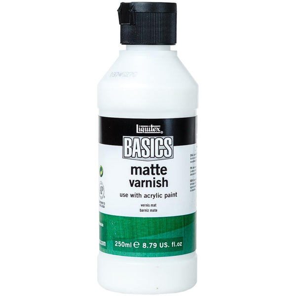 Liquitex BASICS Matte Varnish 250ml - Artified Shop