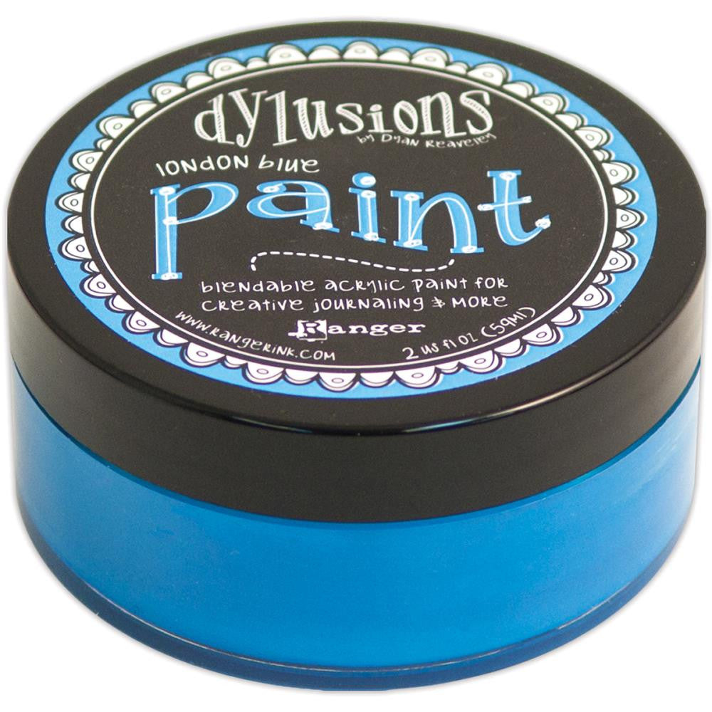 London Blue Dyan Reaveley's Dylusions Paint 2oz - Artified Shop