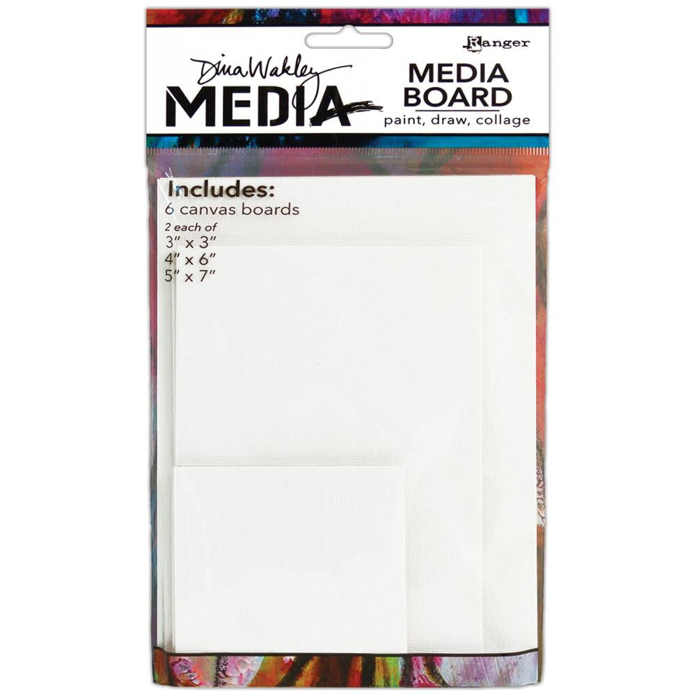 Dina Wakley Media Board Mixed Pack