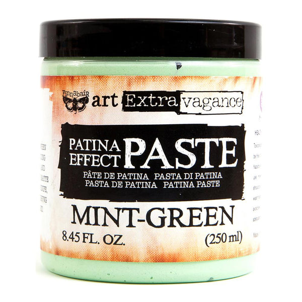 Mint Green Finnabair Art Extravagance Patina Effect Paste 8.45oz