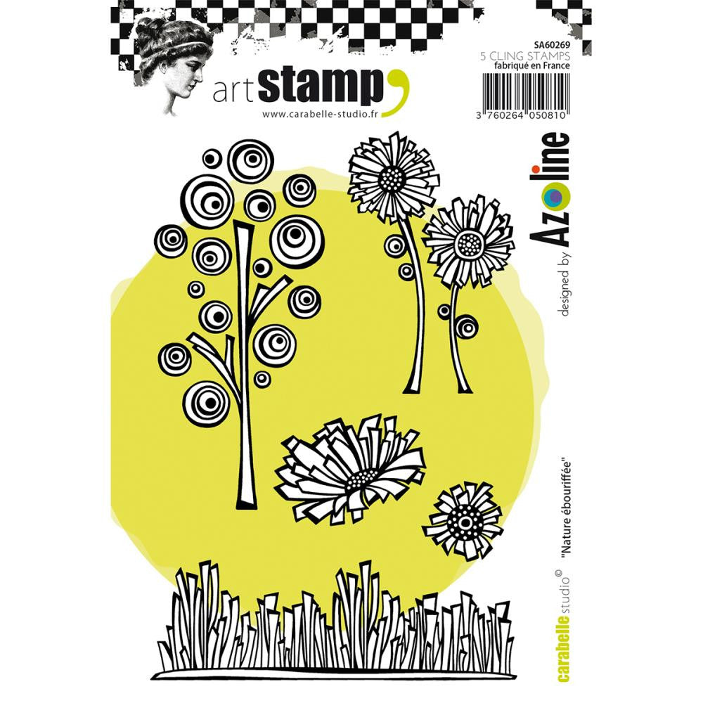 Carabelle Studio Cling Stamp A6 - Nature - Artified Shop