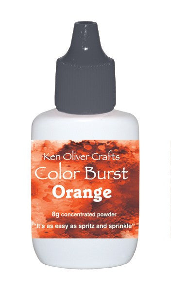 Ken Oliver - Color Burst - Orange
