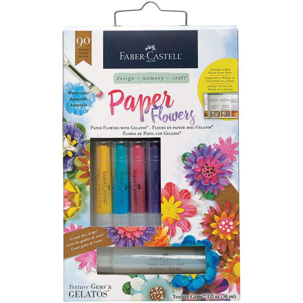 Paper Flowers Mix & Match Gelatos Kit