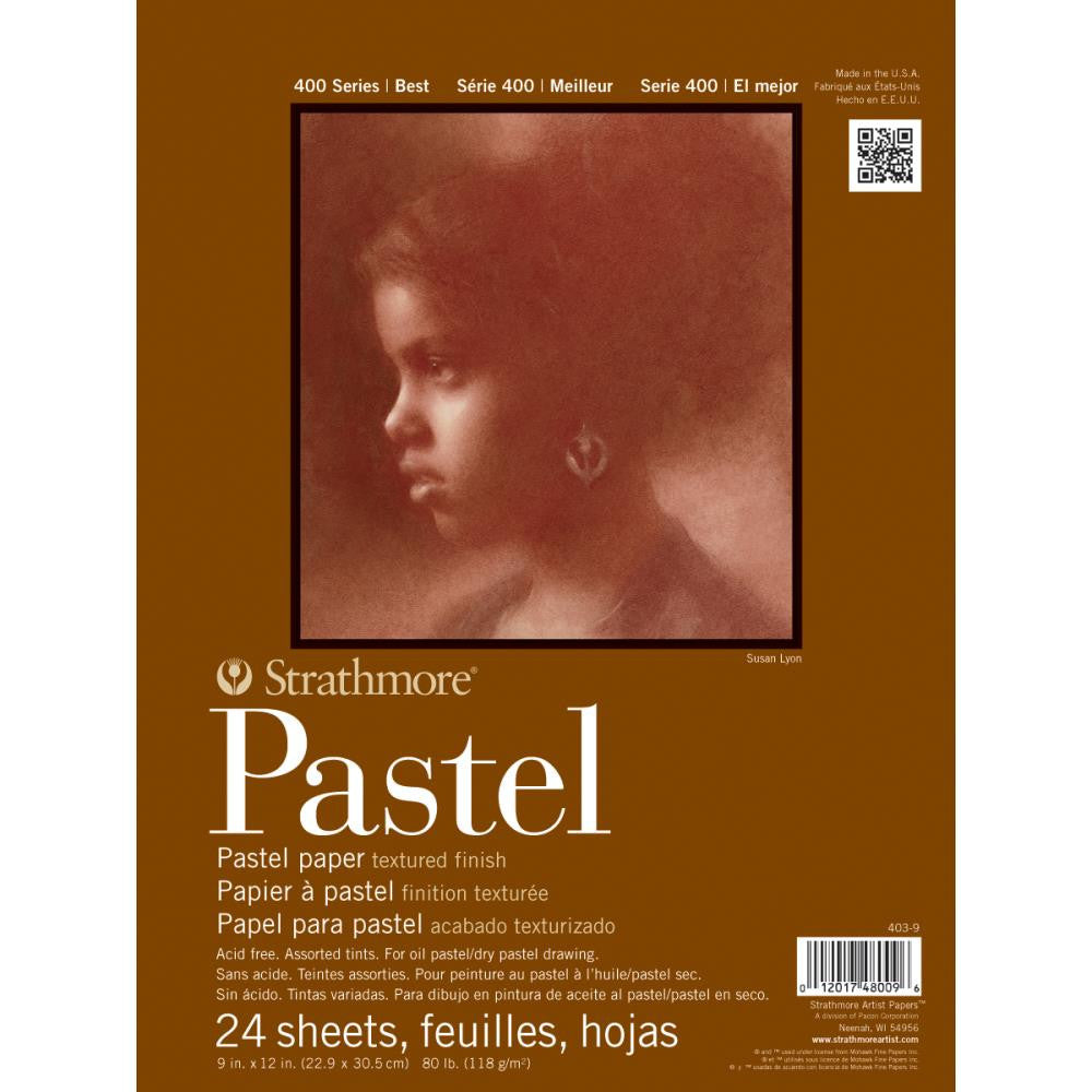"Strathmore Assorted Pastel Paper Pad 9""X12"" - Artified Shop"