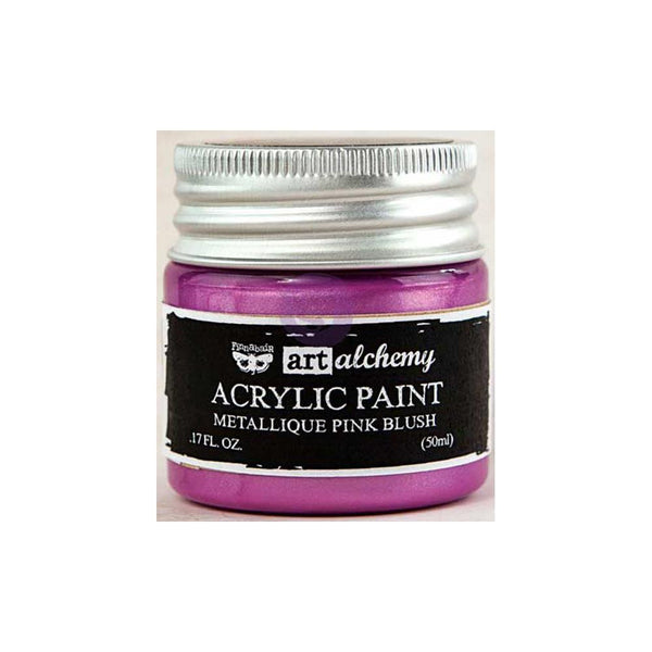 Metallic Pink Blush Art Alchemy Acrylic Paint 1.7 Fluid Ounces